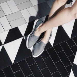 Everlane Nubuck Leather Slip On Street Shoe